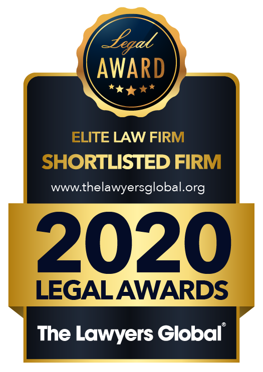 Legal Award von The Lawyers Global - 2020 Legal Awards
